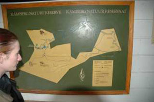 Map of the Kamberg